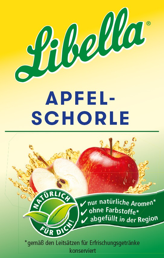 Libella Apfelschorle Bag in Box Postmix